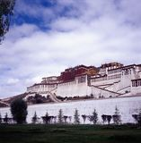 Palais de Potala Images stock