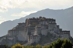 Palais de Potala, Lhasa, Thibet Photo stock