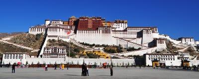 Palais de Potala à Lhasa, Thibet, Chine Photos libres de droits