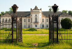 Palais de Potocki Images stock