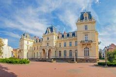 Palais de Potocki dans la ville Lviv, Ukraine Photographie stock libre de droits