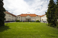 Palais de Potocki, Varsovie, Pologne Image stock