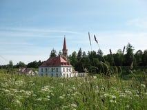 Palais de Prioratsky dans Gatchina Images libres de droits