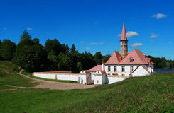 Palais de Priory Gatchina Russie Image libre de droits