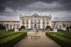 Palais de Queluz Images libres de droits