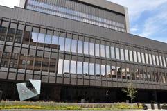 Palais de Rättvisa i Montreal Arkivbilder