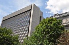 Palais de Rättvisa i Montreal Royaltyfri Foto