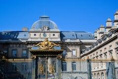 Palais de Rättvisa, Paris, Frankrike Royaltyfri Fotografi