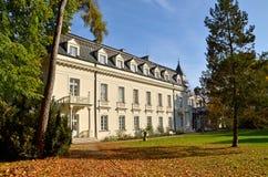 Palais de Radziejowice (Pologne) Image stock