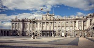 «Palais de réel Madrid», l'Espagne Photo libre de droits