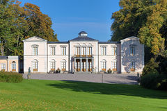 Palais de Rosendal à Stockholm, Suède Photographie stock