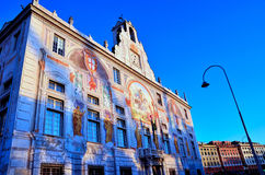 Palais de rue George Image libre de droits