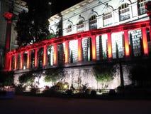 Palais de Rumine. Place de la Riponne in Lausanne / Switzerland Stock Images