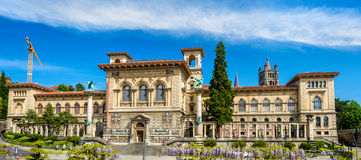 The Palais de Rumine in Lausanne Royalty Free Stock Photo
