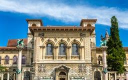 The Palais de Rumine in Lausanne Stock Photo