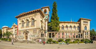 The Palais de Rumine in Lausanne Royalty Free Stock Images