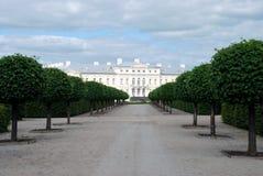 Palais de Rundale, Lettonie Photos stock