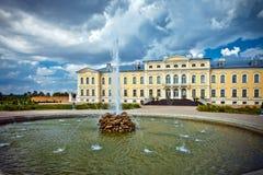 Palais de Rundale, Lettonie, Bauska Image stock