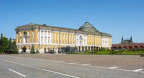 Palais de sénat de Kremlin à Moscou, Russie image stock