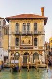 Palais de Salviati dans Grand Canal de Venise, Italie, aucune personnes photo libre de droits