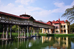 Palais de Sanam Chan image stock