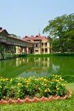 Palais de SanamJan, Nakornpathom, Thaïlande. images stock