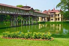 Palais de SanamJan, Nakornpathom, Thaïlande. Photographie stock libre de droits