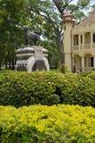 Palais de SanamJan, Nakornpathom, Thaïlande. image libre de droits
