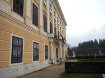 Palais de Schönnbrunn dans le bâtiment de dos de Wien Photographie stock