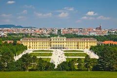 Palais de Schonbrunn Photo libre de droits