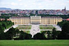 Palais de Schonbrunn et stationnement, Vienne, Autriche Image libre de droits