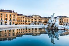 Palais de Schonbrunn, résidence impériale d'été à Vienne images libres de droits