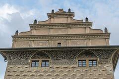 Palais de Schwarzenberg à Prague Photographie stock libre de droits