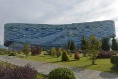 Palais de sports d'hiver d'iceberg, qui a été employé pendant la victoire 2014 Images stock