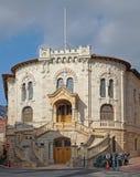 Palais De Sprawiedliwość Monaco Zdjęcie Stock