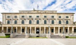 Palais de St Michael et de St George, Corfou, Grèce photographie stock libre de droits