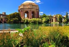 Palais de stationnement de San Francisco des beaux-arts image libre de droits
