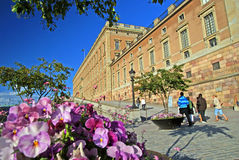 Palais de Stockholm photo stock