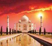 Palais de Taj Mahal en Inde images libres de droits