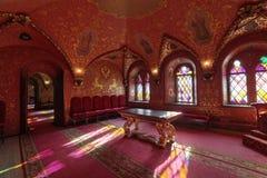 Palais de Terem, la chambre croisée photos stock