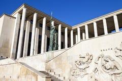 Palais DE Tokyo in Parijs Stock Foto's