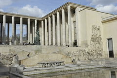 Palais DE Tokyo, Parijs, Frankrijk Royalty-vrije Stock Afbeelding