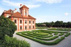 Palais de Troja à Prague Image stock
