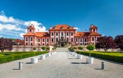 Palais de Troja, Prague Photos stock