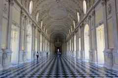Palais de Venaria, Turin Photo stock