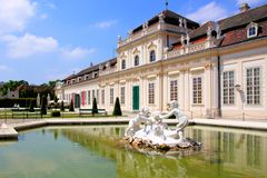 Palais de Vienne Photo stock