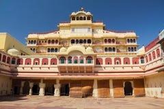 Palais de ville à Jaipur Images libres de droits