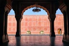 Palais de ville du Ràjasthàn à Jaipur Photographie stock