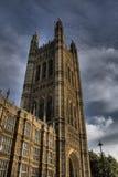 Palais de Westminster, Londres R-U Photographie stock libre de droits