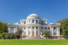 Palais de Yelagin dans le St Petersbourg, Russie Images stock